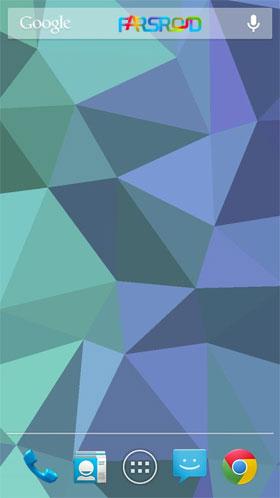 Nexus Triangles LWP لایو والپیپر اندروید