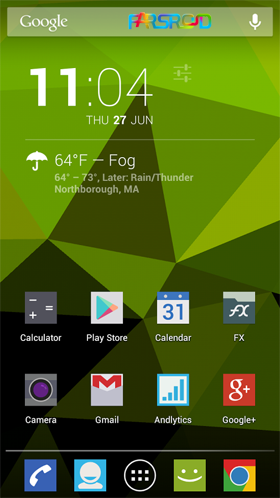 Download Nexus Triangles LWP Android APK - New