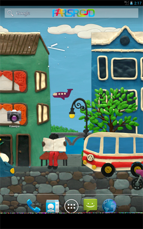 Plasticine town Live wallpaper Android والپیپر اندروید