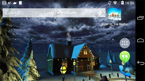 Download Winter 3D, True Weather Andriod Apk - NEW